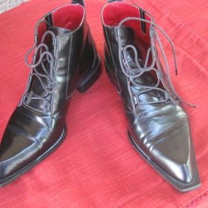 VERO CUOIO APPLAUSI  GORGEOUS ANKLE BOOTS  ITALY